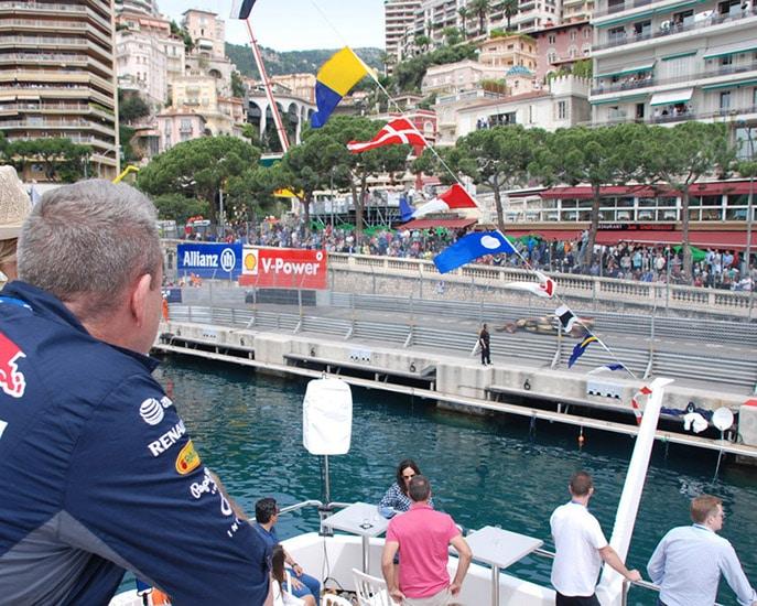 F1 Monaco Yacht experience 2021