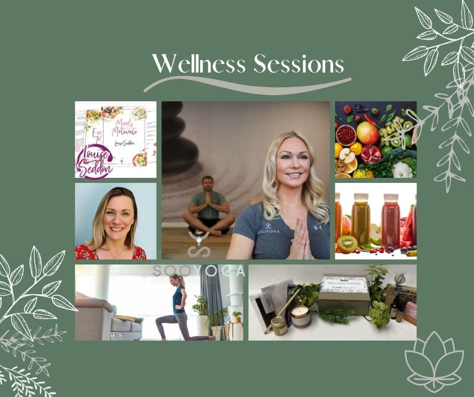 Wellness sessions without logo