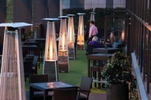 Park Regis Birmingham Terrace evening
