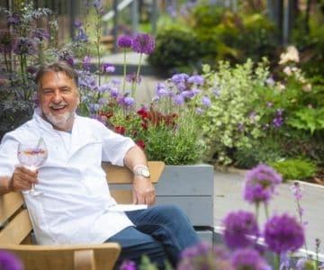 Raymond Blanc at Jardin Blanc
