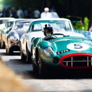 Goodwood Revival cars