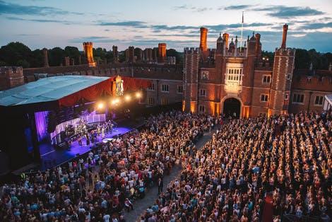 Hampton court palace festival concert